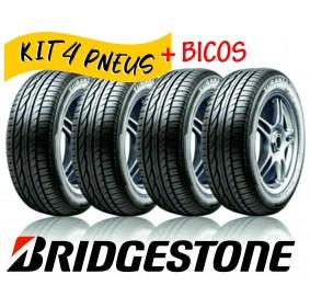 Kit com 4 pneus aro 15 185/60R15 Bridgestone Turanza ER300 84H